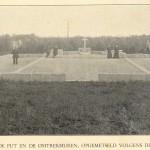 De situatie omstreeks 1925.