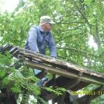 klokkenstoel ophalen Donkerbroek 2 juli 2011 019