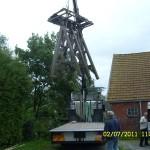 klokkenstoel ophalen Donkerbroek 2 juli 2011 028