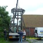klokkenstoel ophalen Donkerbroek 2 juli 2011 030