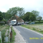 klokkenstoel ophalen Donkerbroek 2 juli 2011 059