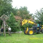 klokkenstoel ophalen Donkerbroek 2 juli 2011 080